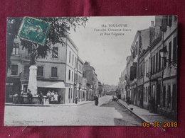 CPA - Toulouse - Fontaine Clémence-Isaure Et Rue Falguière - Toulouse