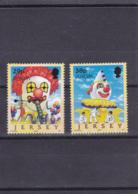 2002 - Europa Cept - Jersey - N°YT 1019 Et 1020** - 2002