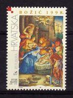 1998 - VATICANO-CROAZIA, Natale,  Emissione Congiunta - MNH ** - Emissioni Congiunte