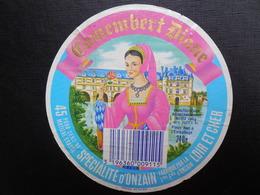 Etiquette Ancienne Décollée - Cheese