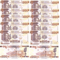 Guinea - 5 Pcs X 1000 Francs 2017 UNC Lemberg-Zp - Guinea
