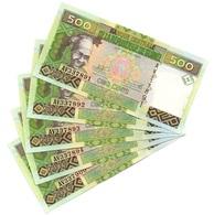 Guinea - 5 Pcs X 500 Francs 2017 UNC Lemberg-Zp - Guinee