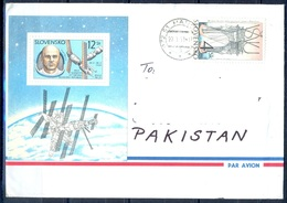 K770- Postal Used Cover. Posted From Slovensko Slovakia To Pakistan. Space.. - Other