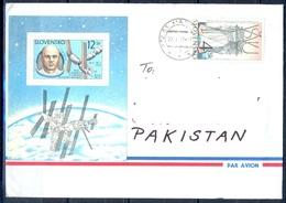 K770- Postal Used Cover. Posted From Slovensko Slovakia To Pakistan. Space.. - Slovakia