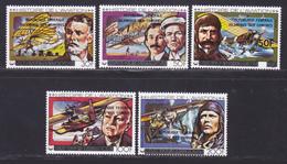 COMORES N° 265 à 268, AERIENS 160 ** MNH Neufs Sans Charnière, TB (D8992) Histoire De L'aviation - 1979 - Comoros