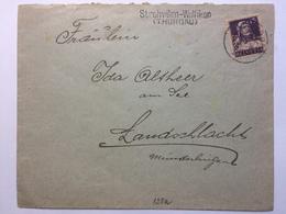 SWITZERLAND - Early Cover - Strohwilen-Wolfikon To Landschlacht - Switzerland