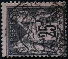 -Sage N°97 Type Ll. O .(CAD ) PARIS R Clement Marot.( Bur 86.) - 1876-1898 Sage (Type II)