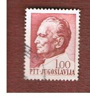 JUGOSLAVIA (YUGOSLAVIA)   - SG 1273  -    1967 PRESIDENT TITO     USED - 1945-1992 Repubblica Socialista Federale Di Jugoslavia