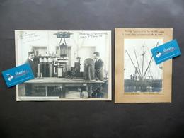 Sistema Radiotelegrafico Dirigibile Bellini Tosi Piroscafo Louisiana 1909-10 - Foto