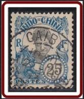 Indochine Province De La Cochinchine - Caibe Sur N° 48 (YT) N° 48 (AM). Oblitération. - Oblitérés