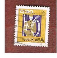 JUGOSLAVIA (YUGOSLAVIA)   - SG 1305   -    1967  NEW YEAR: CHIMNEY SWEEP   USED - 1945-1992 Repubblica Socialista Federale Di Jugoslavia