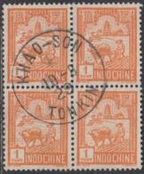 Indochine Province Du Tonkin - Khao-Son Sur N° 127 (YT) N° 122 (AM). Oblitération De 1929. - Oblitérés
