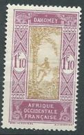 Dahomey -  Yvert N° 93 *   Bce 19314 - Unused Stamps