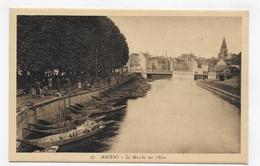 AMIENS - N° 27 - LE MARCHE SUR L' EAU - CPA VOYAGEE - Amiens