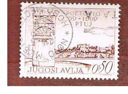 JUGOSLAVIA (YUGOSLAVIA)   - SG 1369   -    1969  PTUJ, SLOVENE TOWN    - USED - 1945-1992 Repubblica Socialista Federale Di Jugoslavia