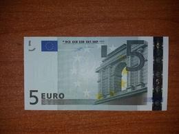 5 € Euro Francia France Firma Duisemberg  I° Tipo - EURO