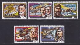 COMORES N° 265 à 268, AERIENS 160 ** MNH Neufs Sans Charnière, TB (D8995) Histoire De L'aviation - 1979 - Comoros