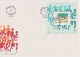 Portugal 1984 Olympic Games Los Angeles M/s FDC (F7803) - FDC