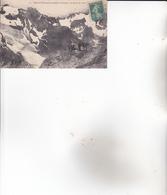 CPA 05 LE MONETIER ,le Glacier. (animée...) 1916. - Francia