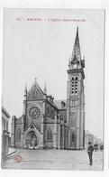 AMIENS - N° 34 - L' EGLISE SAINT HONORE AVEC PERSONNAGE - CPA NON VOYAGEE - Amiens