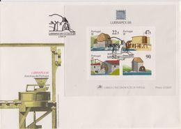 Portugal 1986 Lubrapex M/s FDC (F7805) - FDC