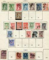 12791 GRECE N° 259/65, 267, 271/8, 281/4, 289/92  */ °  1917-23   B/TB - Greece