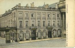CP Bruxelles Hôtel De Belle-Vue Et De Flandre - Cafés, Hôtels, Restaurants
