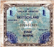 Ancien Billet Allemand De 1 Mark Type Alliés Série 1944- En B - - [ 5] 1945-1949 : Bezetting Door De Geallieerden