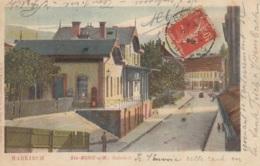 Bahnhof/Gare Markirch,Ste-Marie A.M. 1908, Gelaufen - Gares - Sans Trains