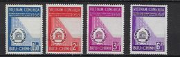 "Viet-Sud YT 81 à 84 "" UNESCO "" 1958 Neuf** MNH - Viêt-Nam"
