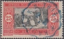 Sénégal 1912-1944 - Ambulant De Kaolack à Thies Sur N° 76 (YT) N° 75 (AM). Oblitération. - Sénégal (1887-1944)