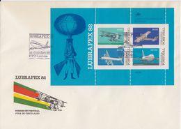 Portugal 1982 Lubrapex M/s FDC  (F7807) - FDC