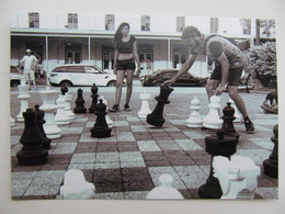 Chess Playground In Texas USA - Schach  - Ajedrez - Echecs - Ajedrez
