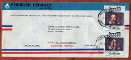 Luftpost, Mondlandung Galileo, Mexico Nach Mainz 1972 (73578) - Mexique