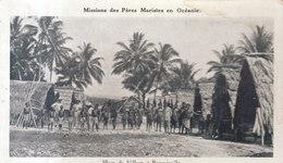 ILES SALOMON /  BOUGAINVILLE LE VILLAGE     ///  REF MAI 19 .  N° 8658 - Salomon