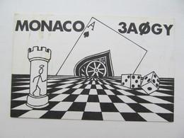 Radio Card With Chess - Schach  - Ajedrez - Echecs - Echecs