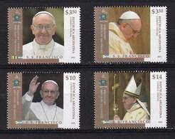 2013 - VATICANO-ARGENTINA - Inizio Pontificato Papa Feancesco - MNH ** - Emissioni Congiunte