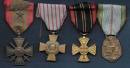 Guerre 1939 - 1945 - 4 Médailles - Francia