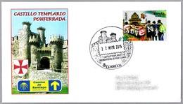 CASTILLO TEMPLARIO - TEMPLAR CASTLE - CAMINO DE SANTIAGO. Ponferrada, Leon, 2015 - Castles