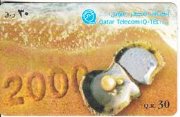 QATAR - Year 2000/Pearl In Shell, Used - Qatar