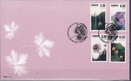 +F1099. Denmark 2011. Flowers. Michel 1654-57. (9.50€).  FDC. - FDC