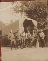 Photo  Camion Forge Ambulante Guerre 1914 1918 - 1914-18