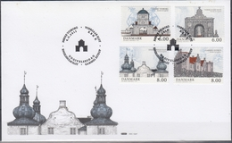 +F1100. Denmark 2011. Manour Houses. Michel 1644-47. (10€).  FDC. - FDC