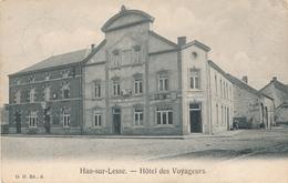 CPA - Belgique - Rochefort - Han-sur-Lesse - Hôtel Des Voyageurs - Rochefort
