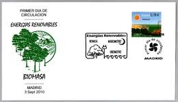 ENERGIAS RENOVABLES - BIOMASA. RENEWABLE ENERGIES - BIOMASS. SPD/FDC Madrid 2010 - Protección Del Medio Ambiente Y Del Clima