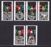 CENTRAFRICAINE N°  383 à 386,AERIENS 204 & 205 ** MNH Neufs Sans Charnière, TB (D8998) Jeux Olympiques Moscou - 1979 - Central African Republic
