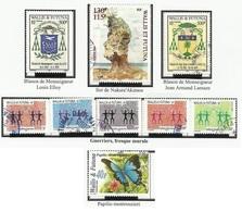 WALLIS ET FUTUNA N° 626 Neufs + 627 635 à 639 641 647 Oblitérés 2004 - 2005 - Wallis Y Futuna