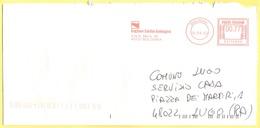 ITALIA - ITALY - ITALIE - 2002 - 00,77 EMA, Red Cancel - Regione Emilia-Romagna - Viaggiata Da Bologna Per Lugo - Affrancature Meccaniche Rosse (EMA)
