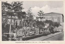 PIEDIMONTE ETNEO - VIA ROMA E VILLA - Catania