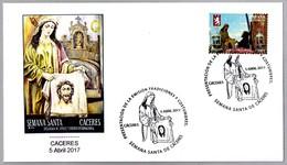 TRADICIONES Y COSTUMBRES - SEMANA SANTA DE CACERES - VERONICA. Caceres, Extremadura, 2017 - Cristianismo